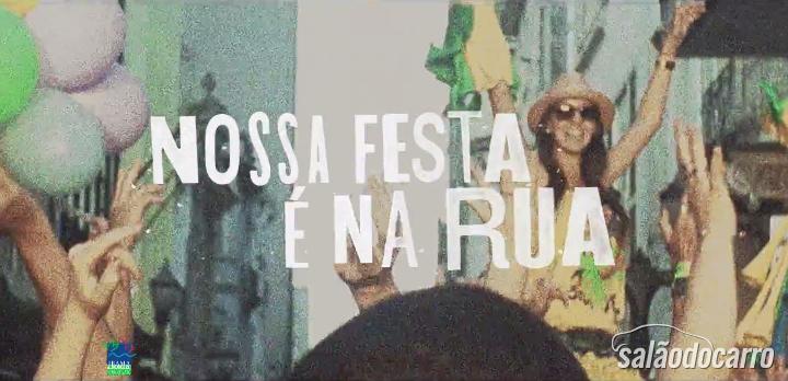 """Fiat lança campanha """"Nossa Festa é na Rua"""""""
