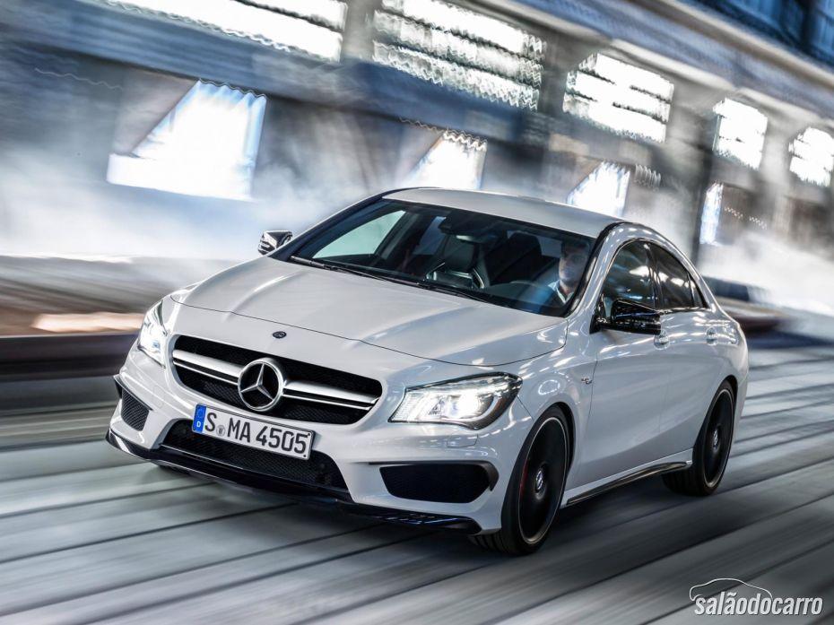 Mercedes-Benz CLA 45 AMG chega ao Brasil por R$ 289.900