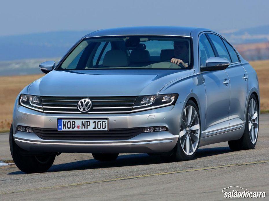 Novo Passat ganha informações quentes da Volkswagen