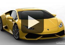 Confira uma incrível demonstração da Lamborghini Huracán
