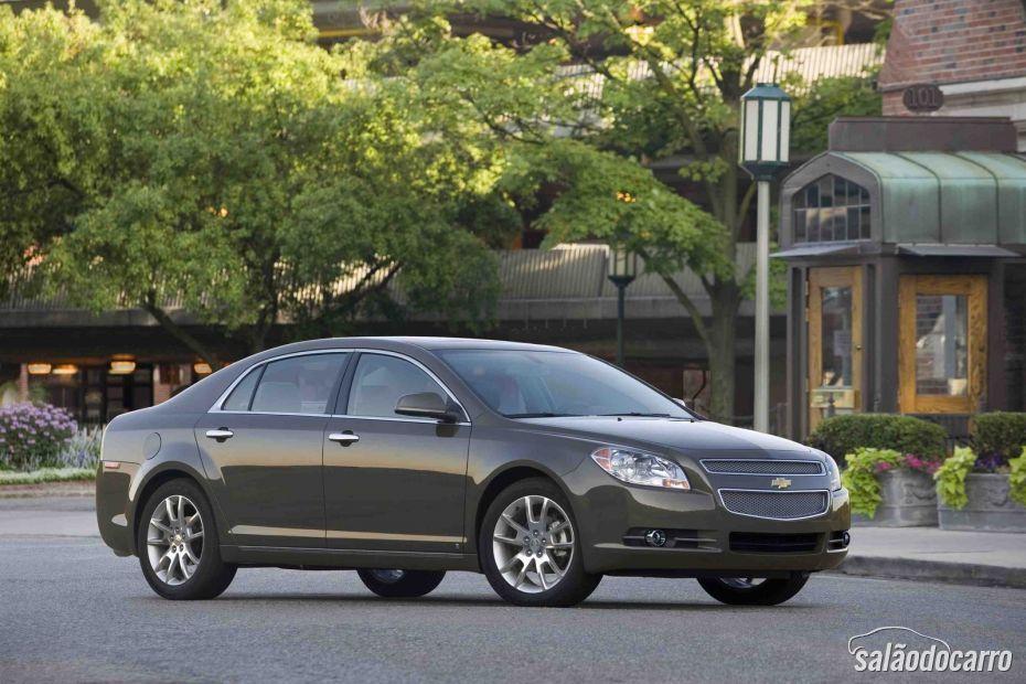 Chevrolet Malibu sofre recall no Brasil