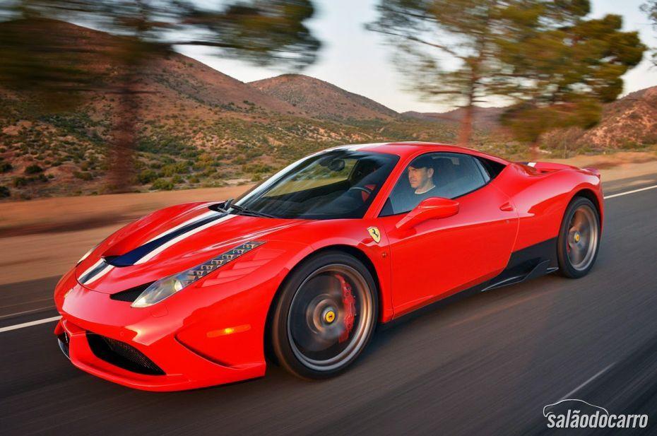 Ferrari 458 Speciale chega ao Brasil por R$ 2,3 milhões