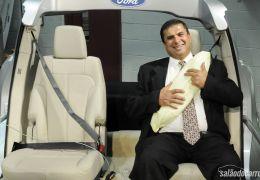 Ford licencia cinto de segurança inflável