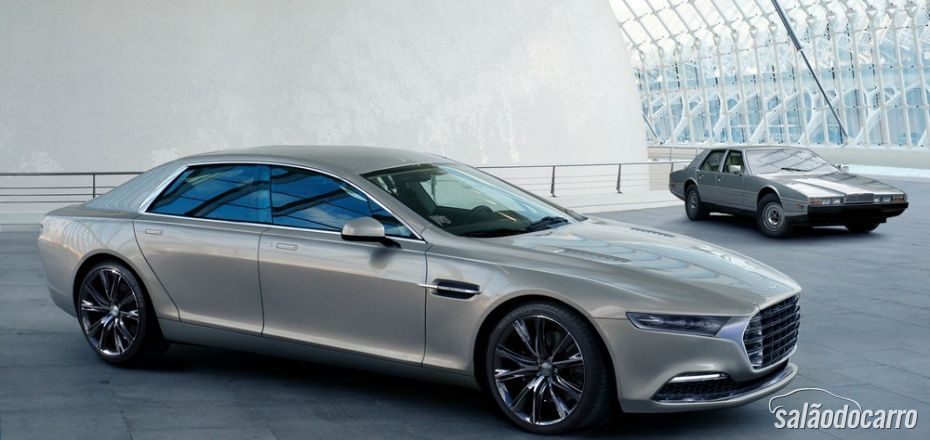 Aston Martin trabalha em novo Lagonda