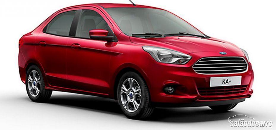 Novo Ford Ka terá o nome de Ka+