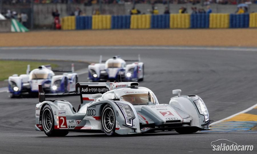 "Porsche parabeniza Audi pela vitória em ""Le Mans"""