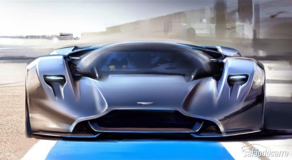 Aston Martin desvenda DP 100 Vision GT