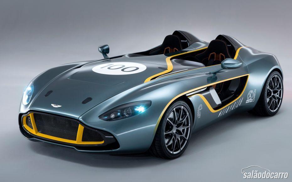 Detalhes do Aston Martin CC 100 Speedster Concept