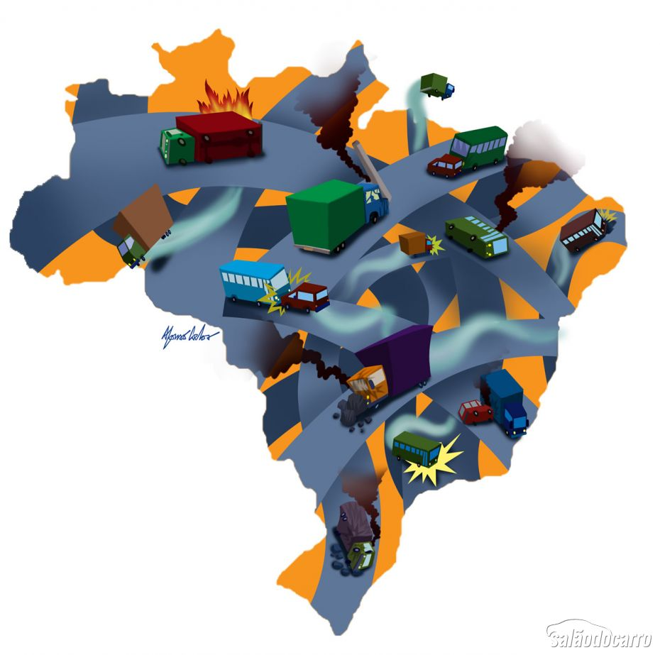 Atlas da Acidentabilidade no Transporte Brasileiro