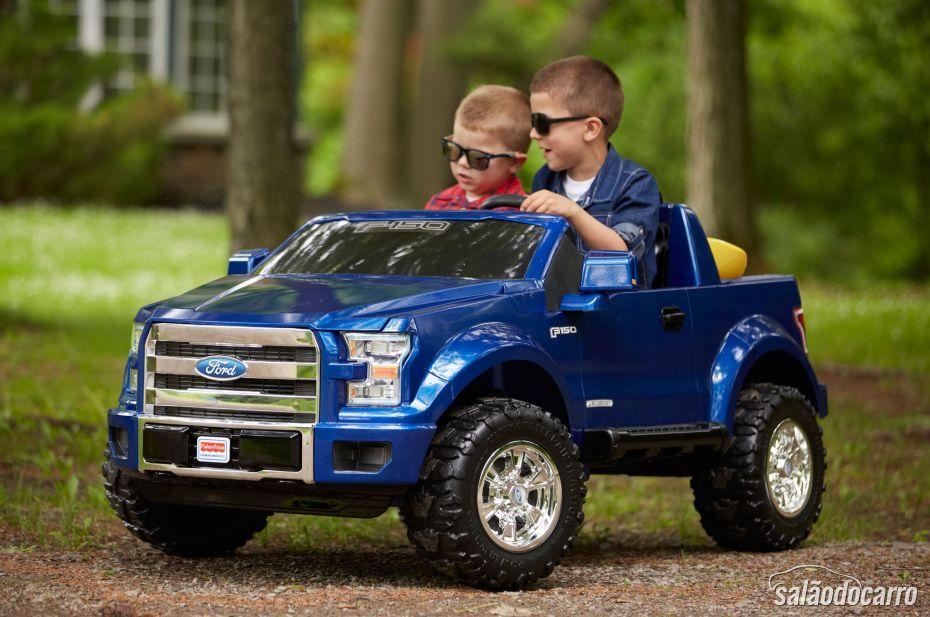 Novo Ford F-150 Power Wheels chega ao mercado