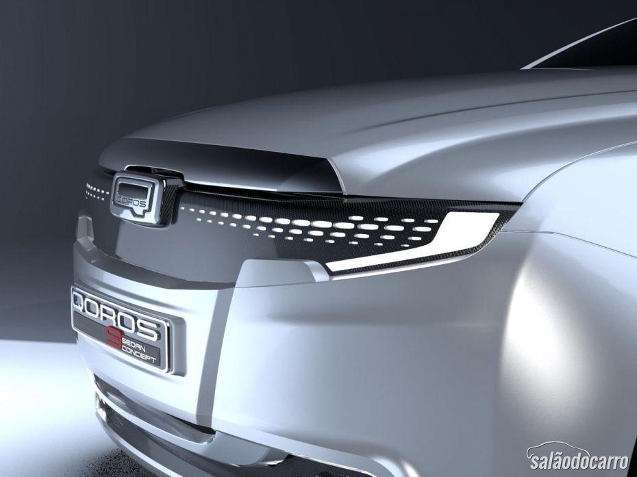 Estagiário projeta Qoros 9 Sedan Concept