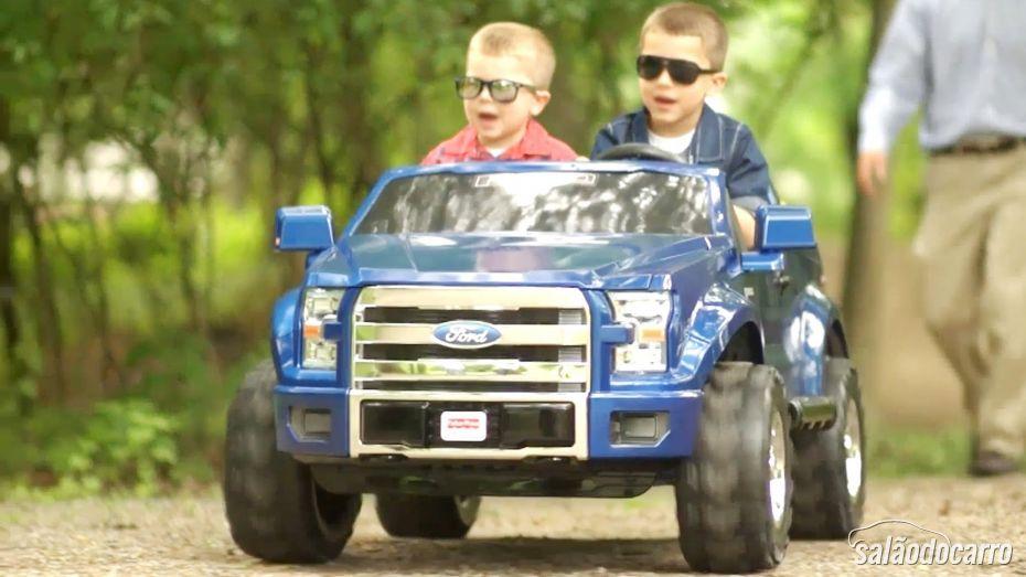 Ford F-150 Power - Um carro para crianças