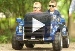 Vídeo: Ford F-150 Power - Um carro para crianças