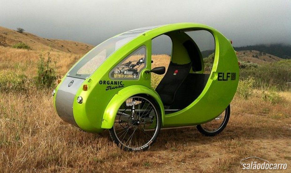 Elf: o veículo elétrico similar a uma bicicleta