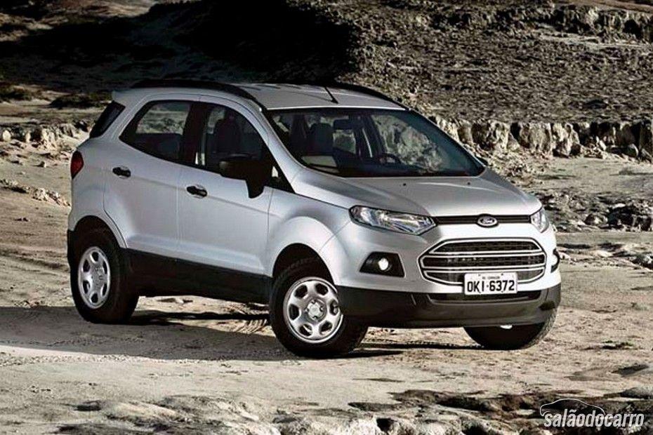 Versão mais básica do Ford EcoSport sai da linha 2015