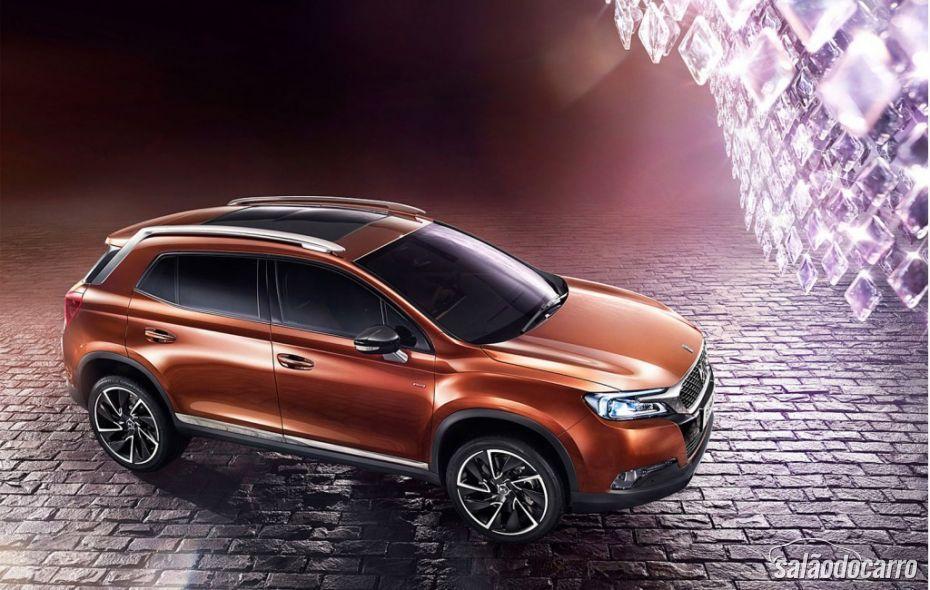 Citroën revela interior do futuro SUV DS 6WR