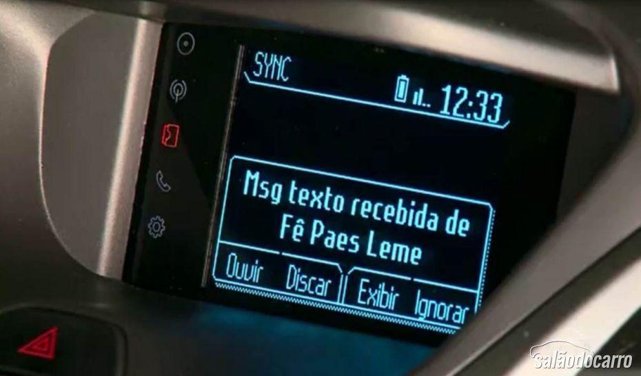 Ford revela interior do novo Ka com sistema SYNC