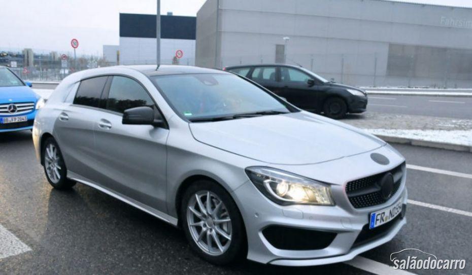 Mercedes-Benz confirma lançamento do CLA Shooting Brake para 2015