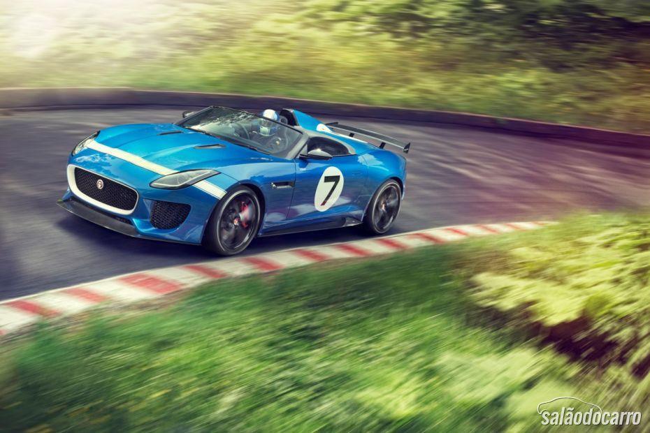 Jaguar anuncia produção de F-Type Project 7