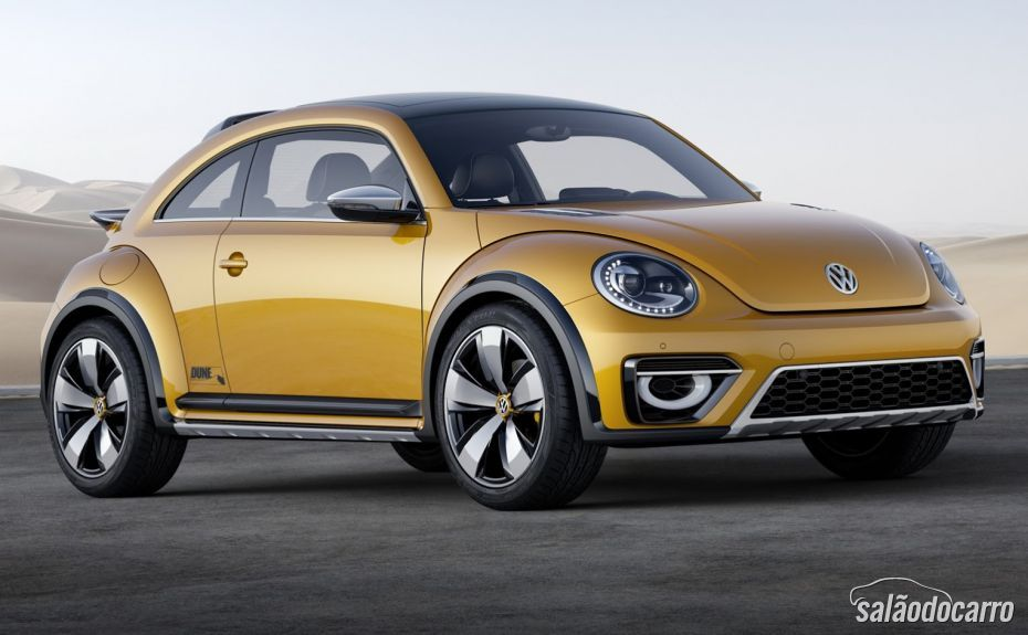 Volkswagen Beetle Dune chega ao mercado em 2016