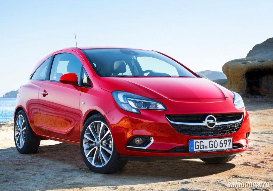 Confira o vídeo do novo Opel Corsa 2015