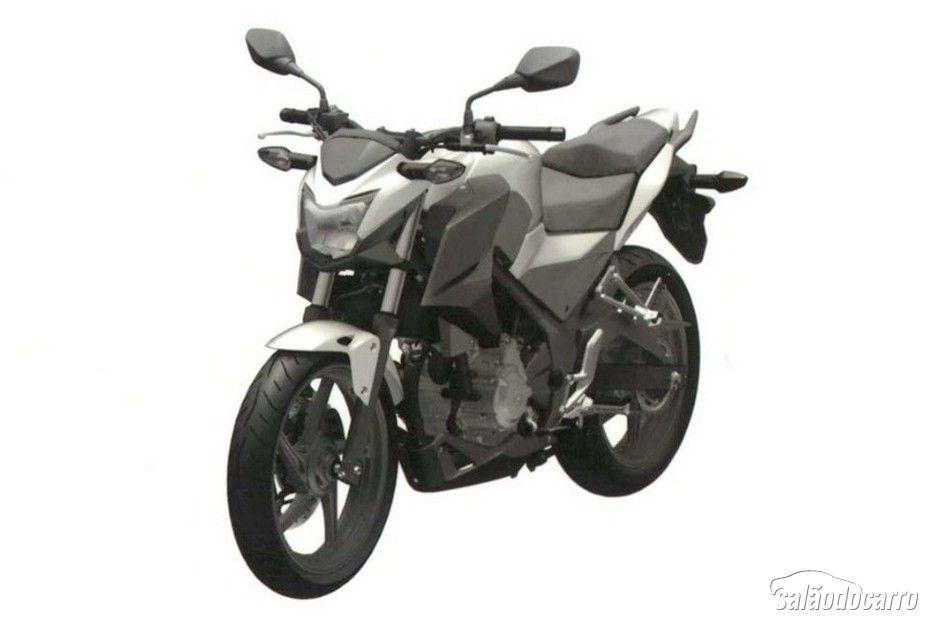 Honda apresenta a moto CB 300F 2015