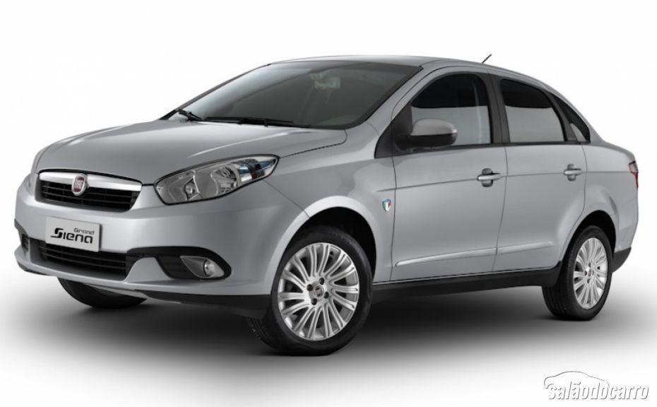 Fiat apresenta Grand Siena Série Especial Itália por R$ 49.450