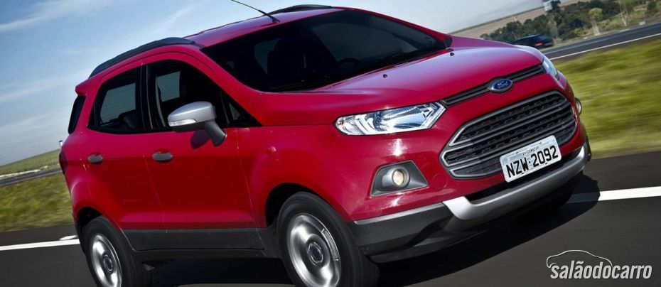 Ford EcoSport terá versão FreeStyle Powershift