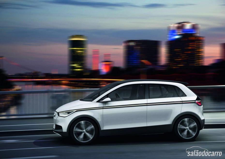 Audi A2 pode ganhar modelo elétrico em 2018