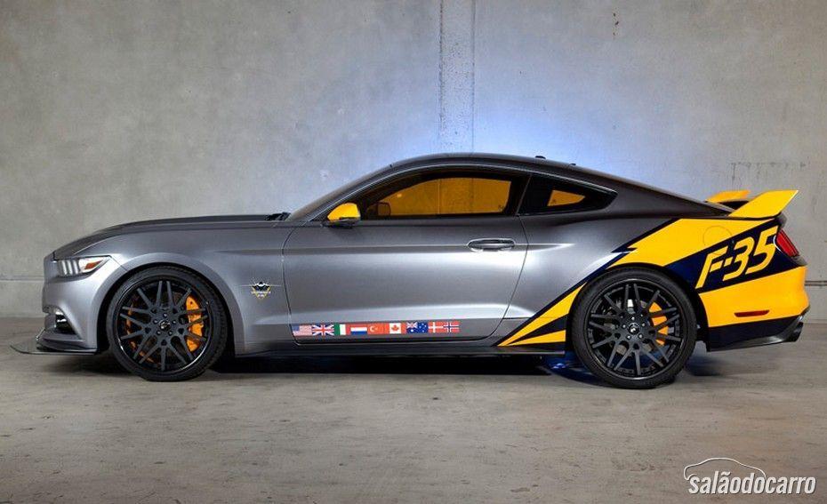 Ford desenvolve Mustang baseado no caça F-35 Lightning II
