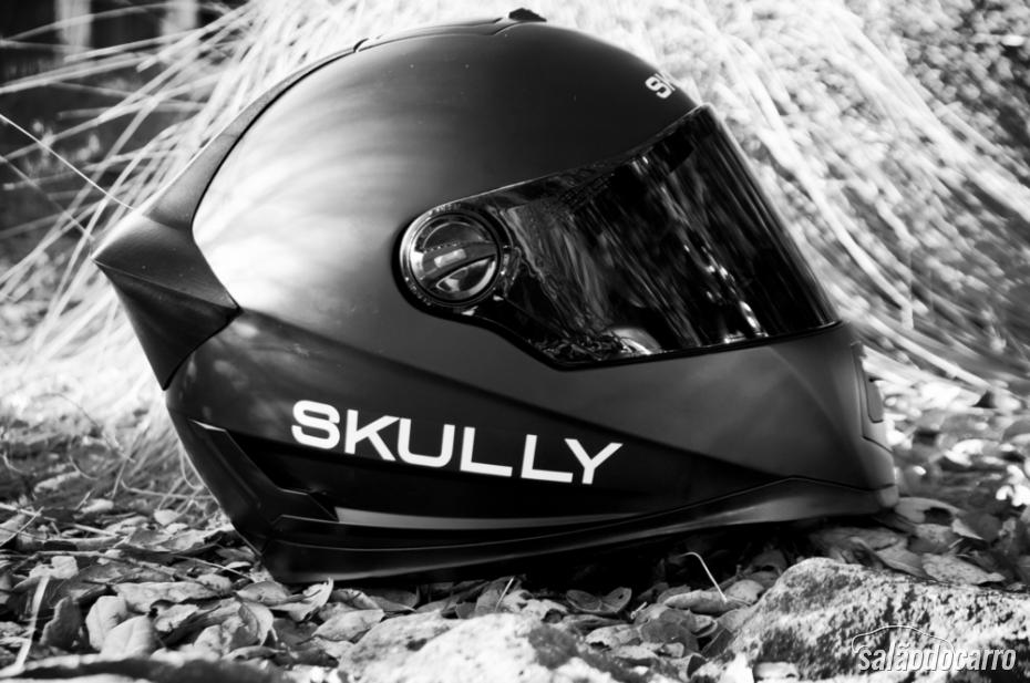 Conheça o capacete com Android e câmera