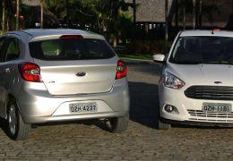 Impressões dos novos Ford Ka e Ka+ Sedan