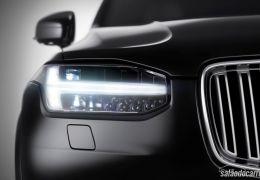 Volvo mostra imagem externa do novo XC90