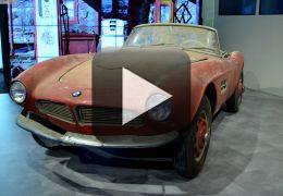Confira imagens da BMW 507 de Elvis Presley