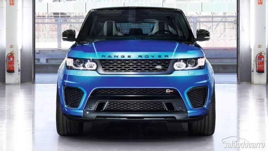 Land Rover lança Range Rover SVR