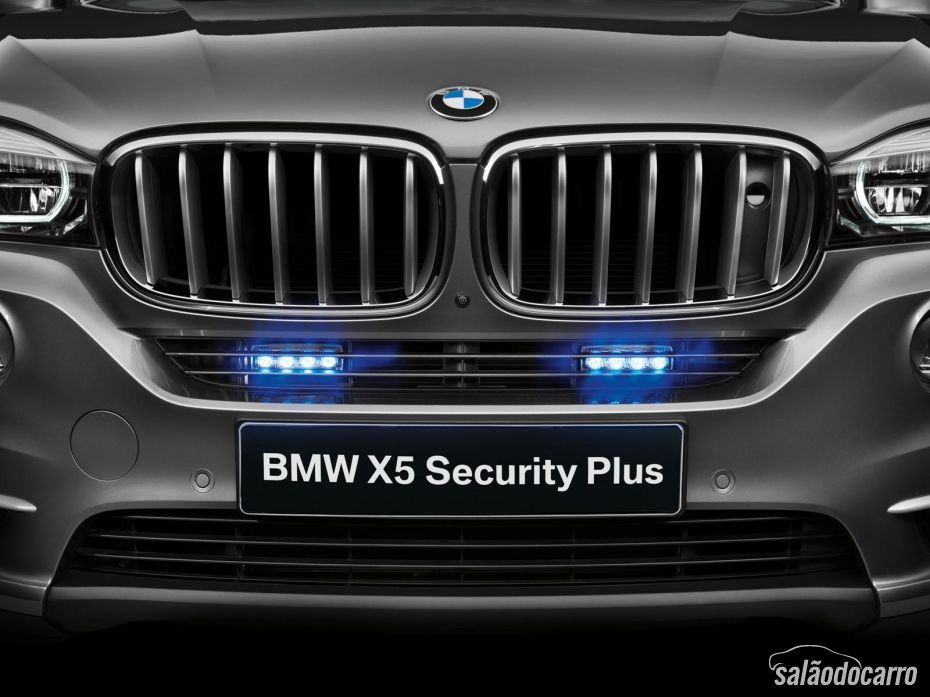 BMW revela nova X5 blindada: Security Plus