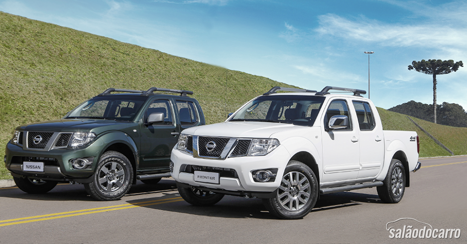 Nissan lança nova linha 2015 da Frontier