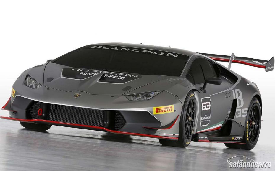 Lamborghini lança novo Huracán Super Trofeo