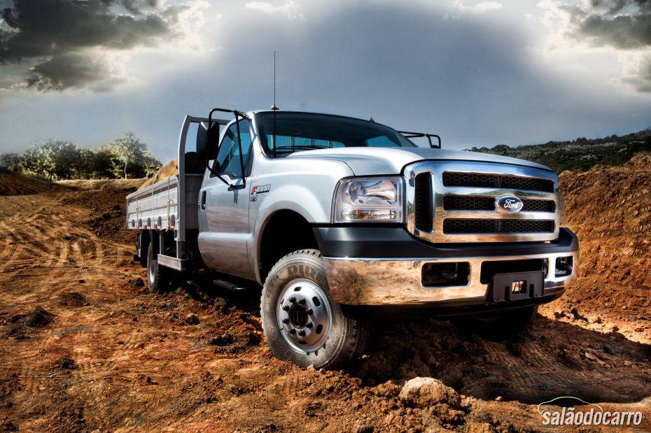 Ford relança caminhões Série F