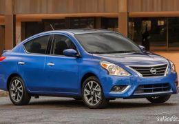 Novo Nissan Versa é flagrado no Brasil