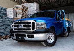 Impressões dos caminhões Ford F350, F4000 e F4000 4X4