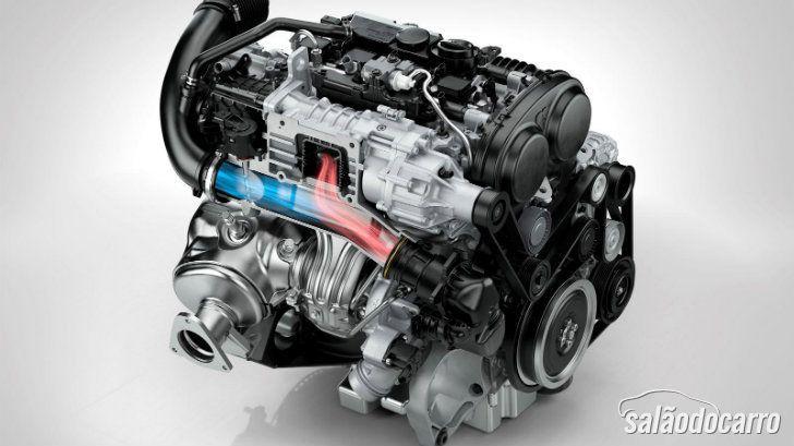 Volvo trabalha em motor de 3 cilindros
