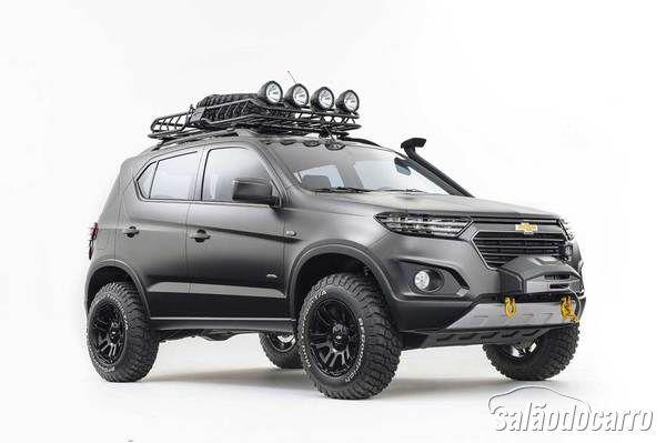 Chevrolet Niva Concept é apresentado no Salão de Moscou