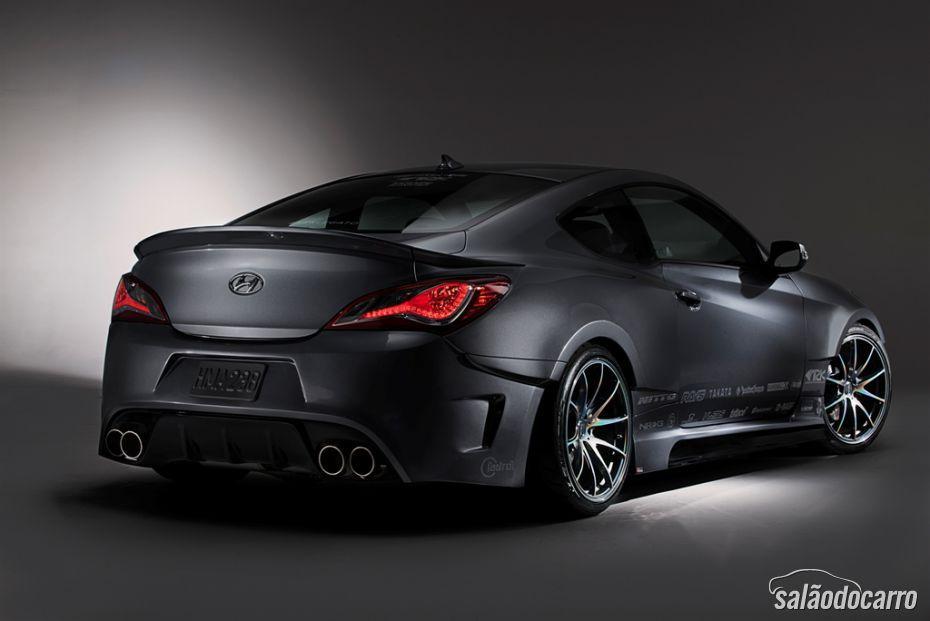 Hyundai Genesis Coupe 2015 é apresentado nos EUA