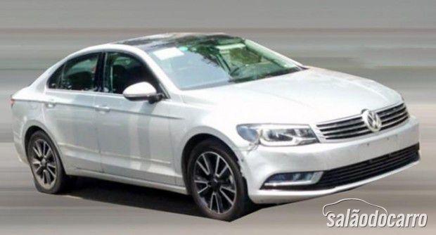 Vaza imagem do novo coupé NMC da Volkswagen