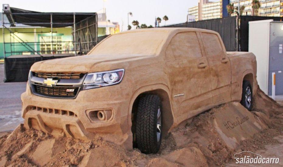 Chevrolet Colorado ganha versão de areia nos Estados Unidos