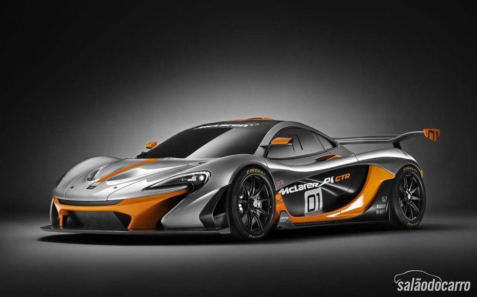 McLaren lança P1 GTR