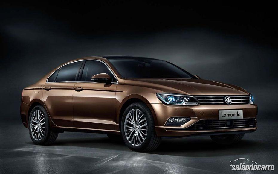 Volkswagen apresenta coupé Lamando na China