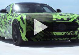 Confira o vídeo promocional de lançamento do Mercedes-Benz AMG GT S