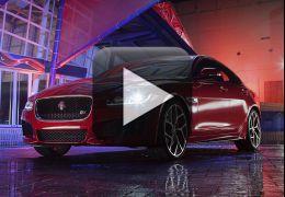 Jaguar coloca novo XE no palco em sua estreia mundial
